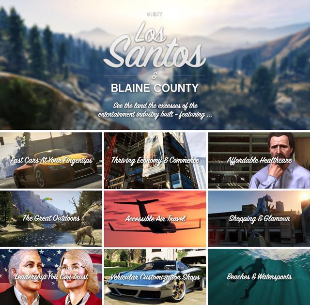 GTA V Official Website