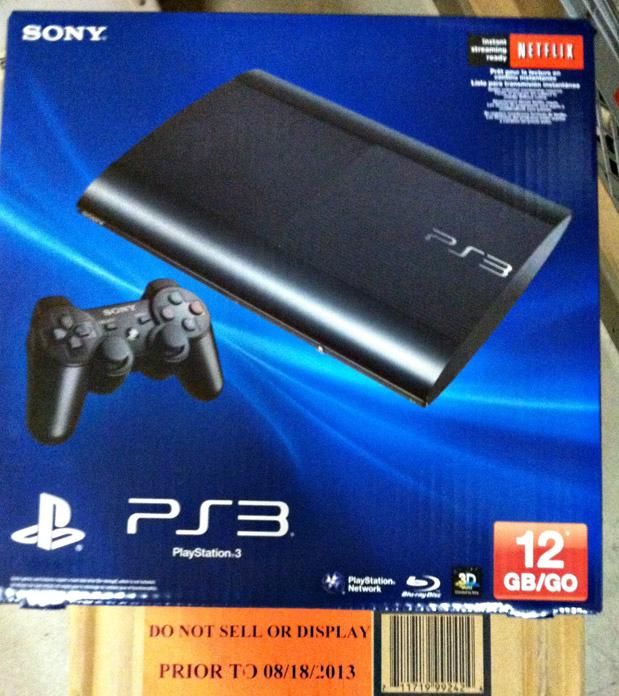 PS3 120 gb