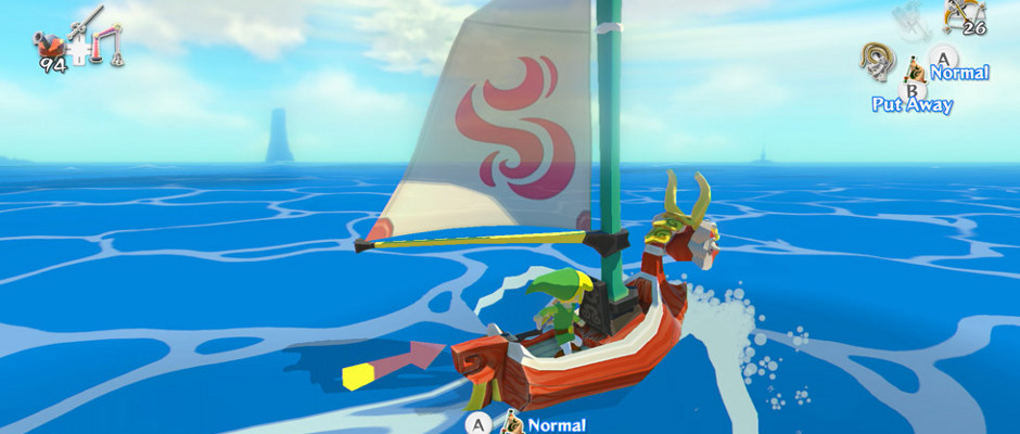 El vasto mar de Hyrule en 2.6 GB