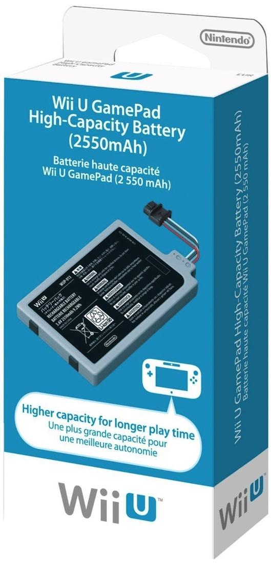 nueva batería wii u