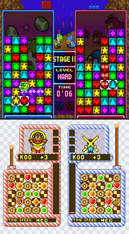 Yoshi Cookie Tetris Attack