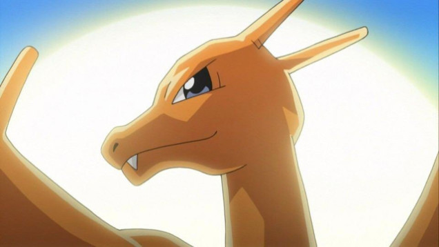 Anime Charizard Pokemon