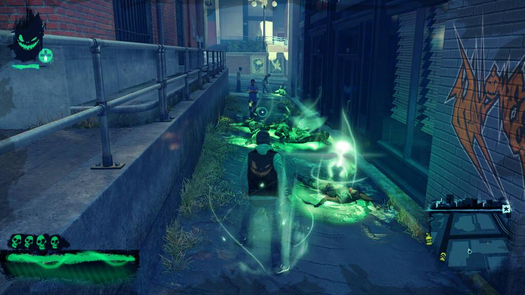 Screenshot InFamous Ghost Nightmare