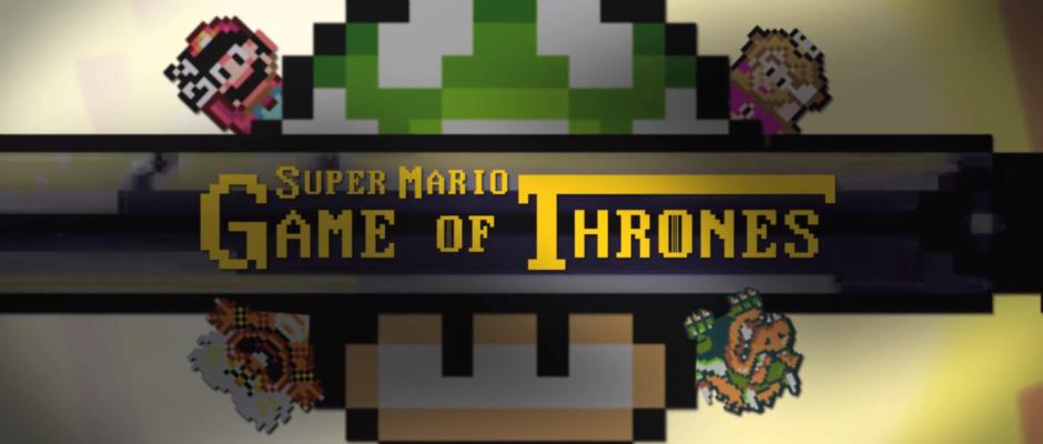 Super Mario World Game of Thrones