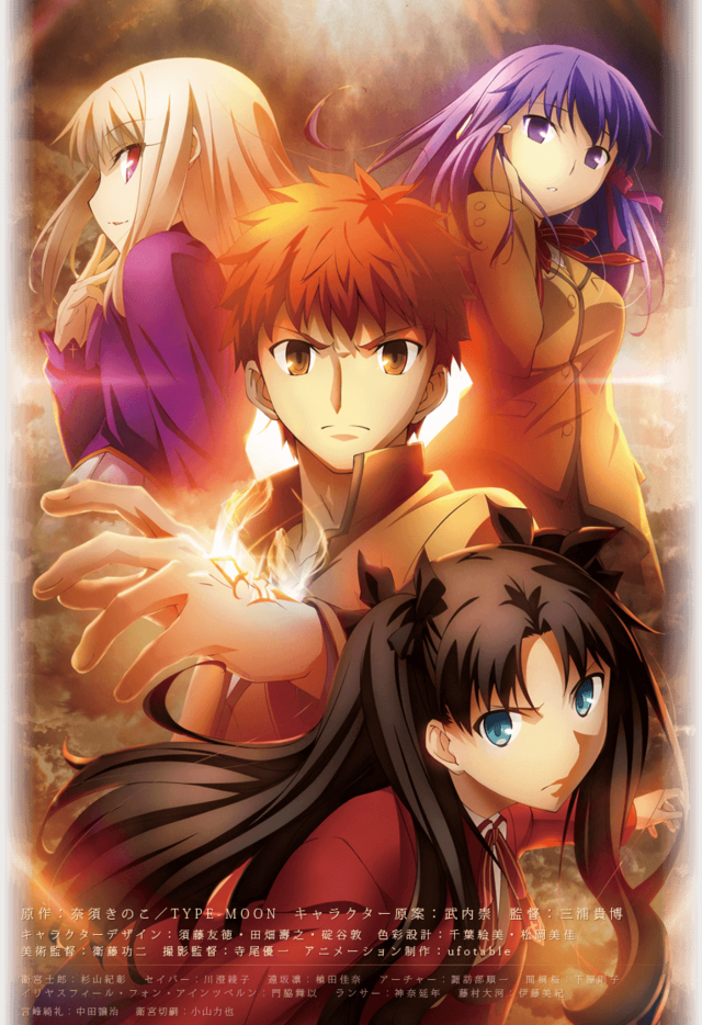 Fate Stay Night anime