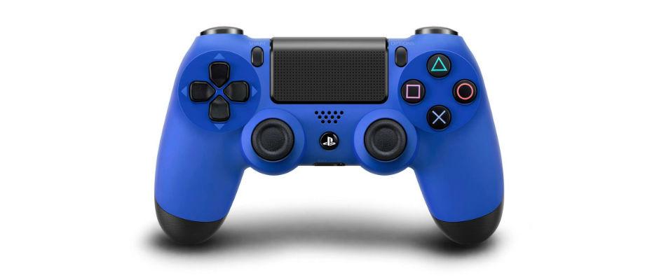 DualShock 4 Blue Wave