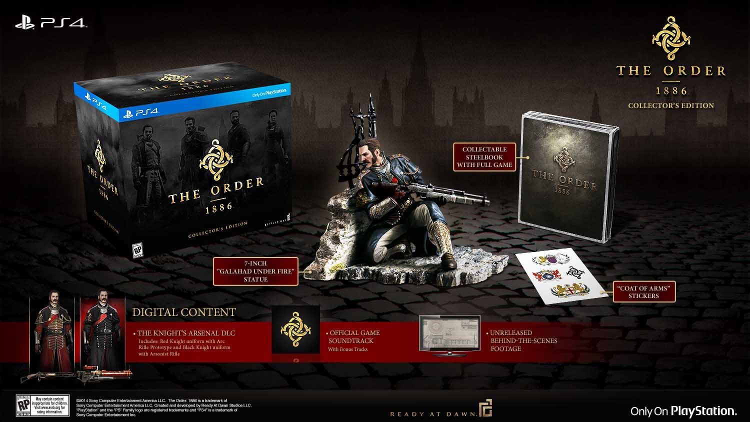The Order 1886 E3 2014 Collectors Edition