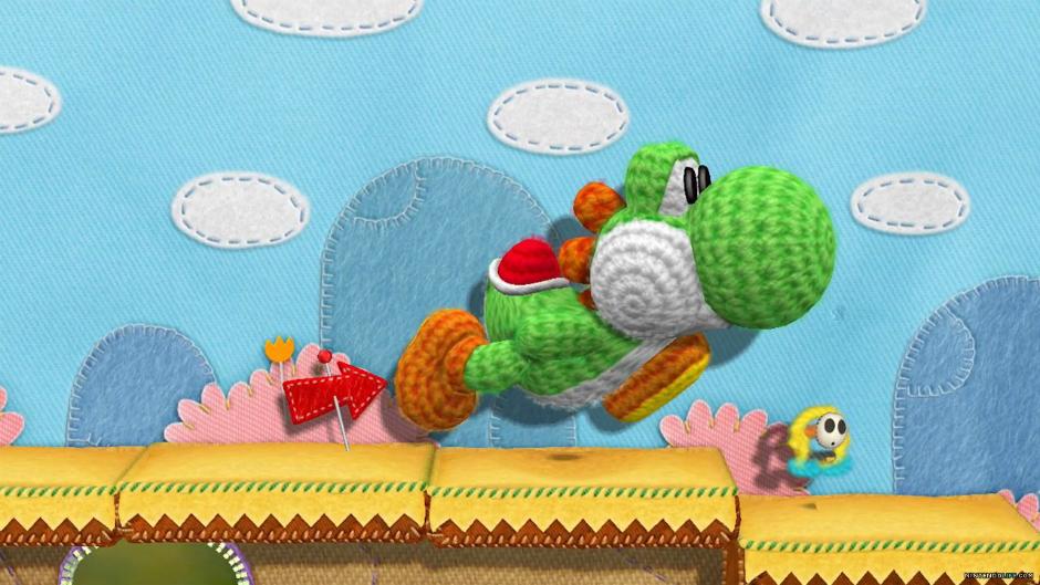 Yarn yoshi Wii U