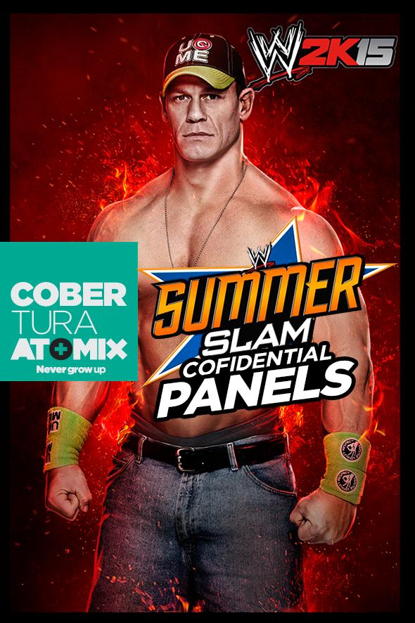 COBERTURA: WWE 2K15 SUMMERSLAM