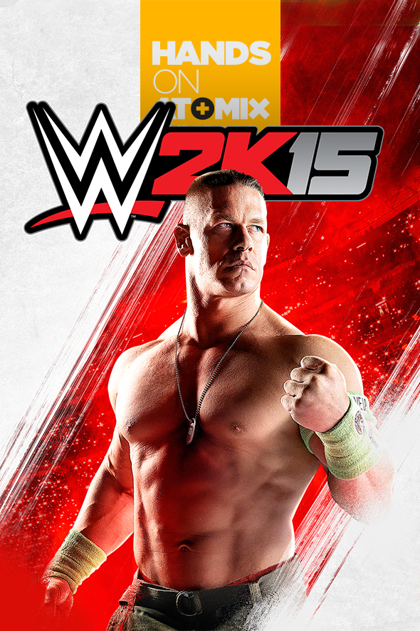 Exclusiva: Hands-On – WWE 2K15