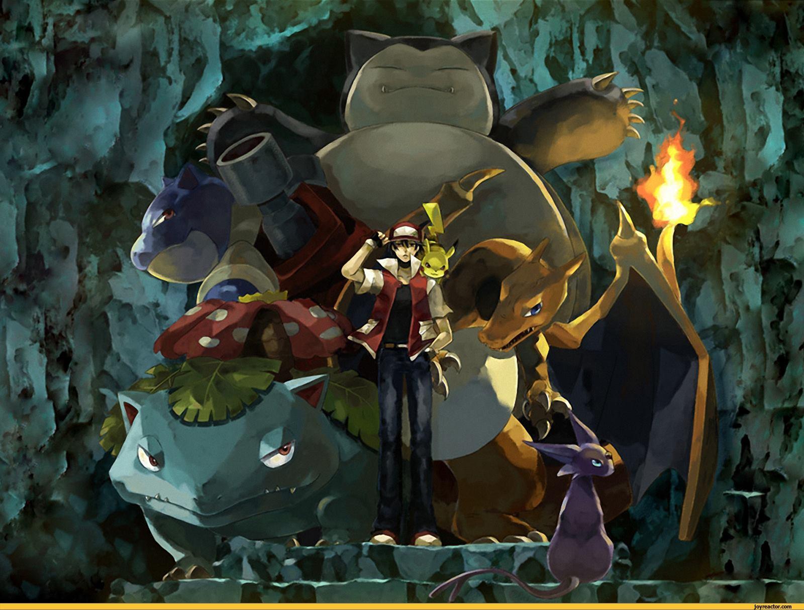 Pokemon Red anime poke week