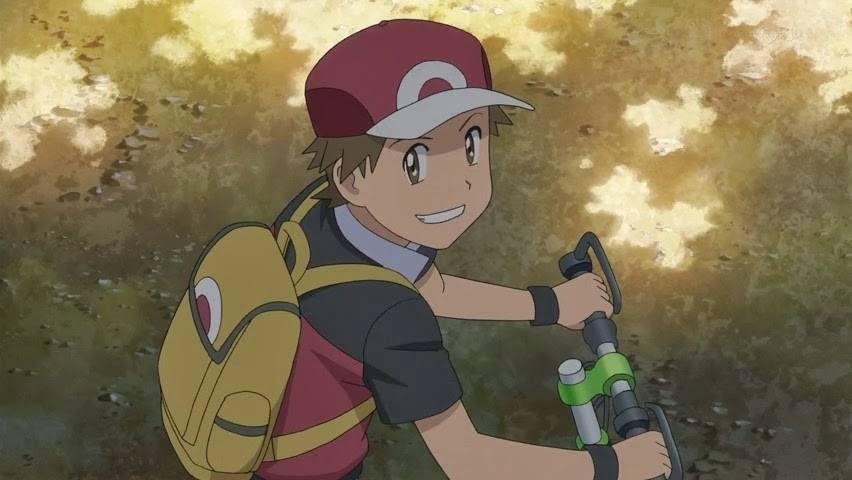 Pokemon Red anime poke week pokemon the origin