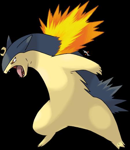 Typhlosion pokemon pokeweek
