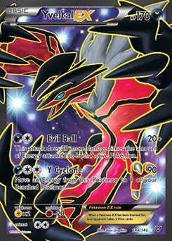 Yveltal EX Pokemon TCG