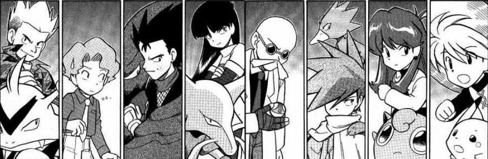 lt-surge-koga-sabrina-blaine-green-pokemon-adventures-manga