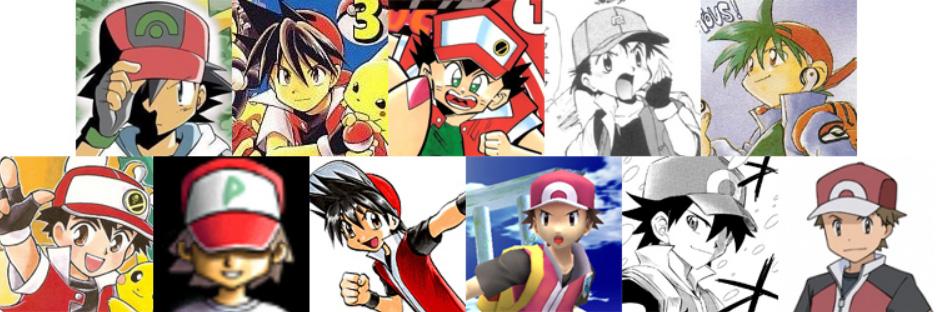 Pokemon Red anime manga poke week