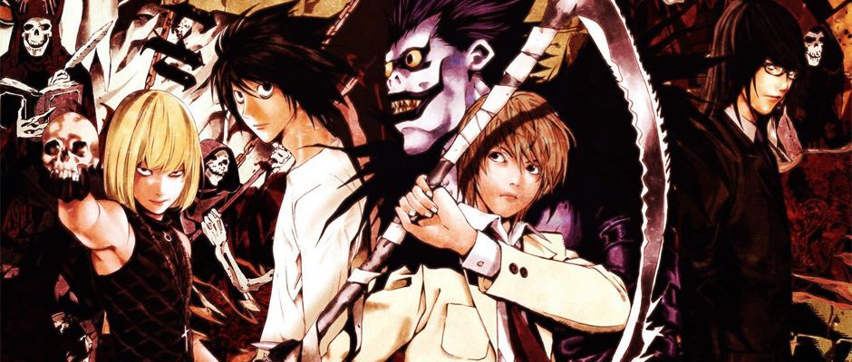 Death Note anime manga