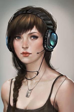 gamer-girl