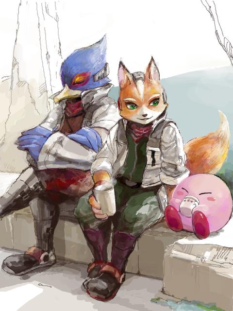 smash-bros-falco-fox-kirby