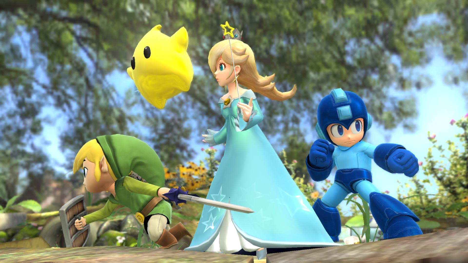Super-Smash-Bros-3DS-Wii-U-Rosalina-Luma-Mega-Man-Toon-Link