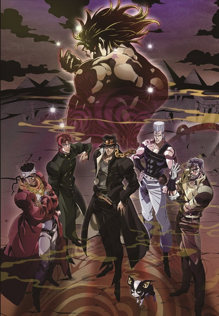 Jojo Bizarre Adventure Stardust Crusaders -Battle in Egypt