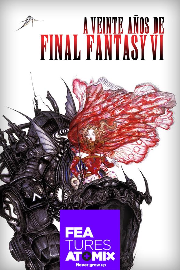 A 20 años de final fantasy