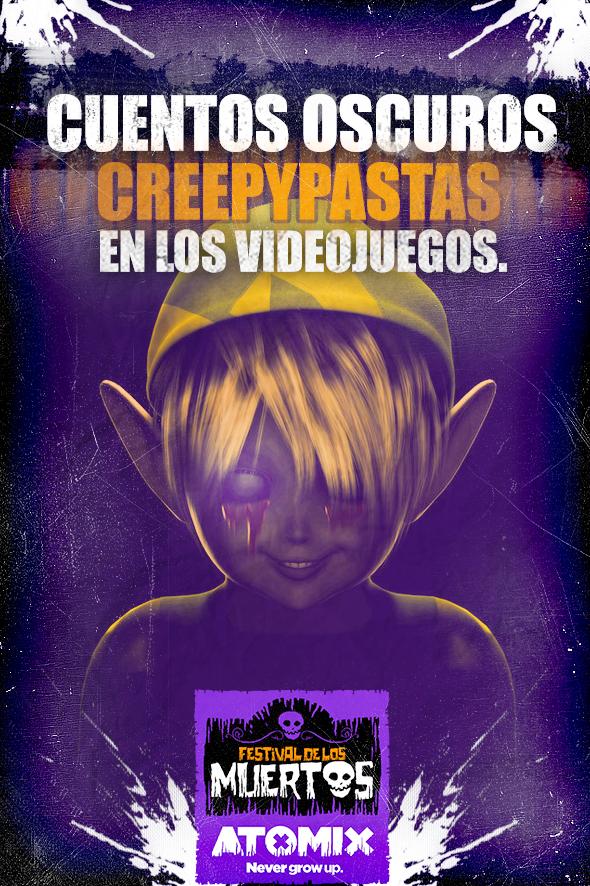 Cuentos oscuros: creepypastas en los videojuegos