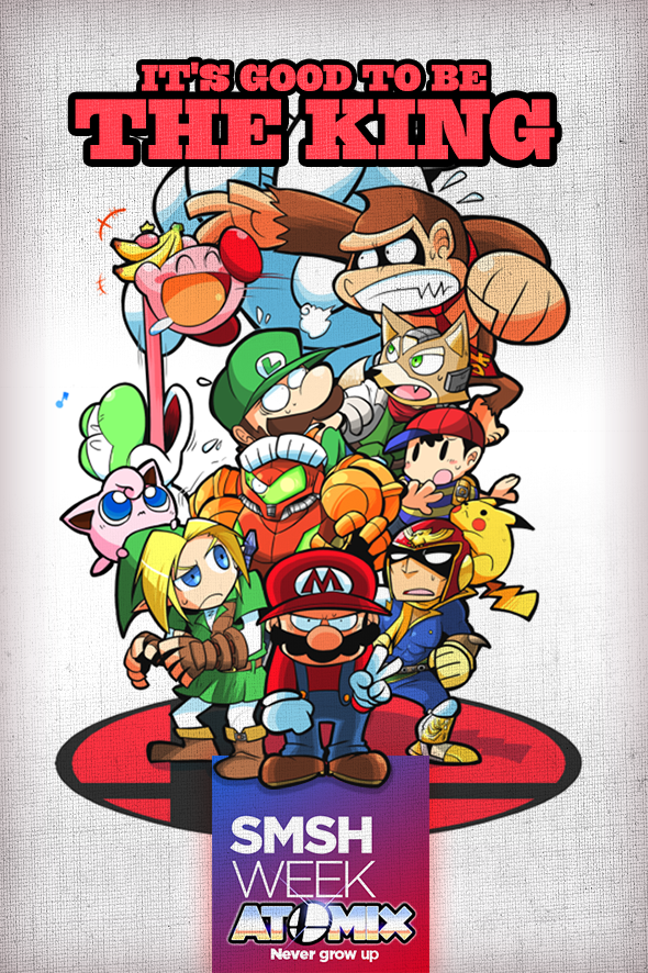 Smash Bros: Its good to be the king