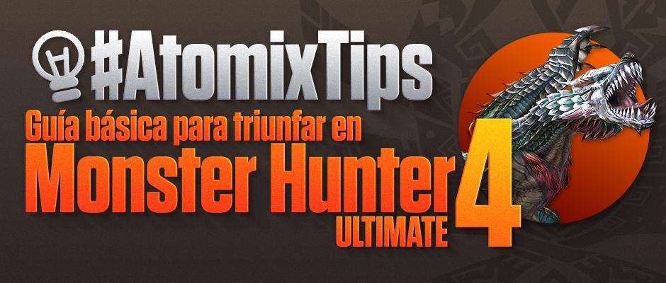 atomix_tips_post_guia_basica_monster_hunter_3ds_videojuegos