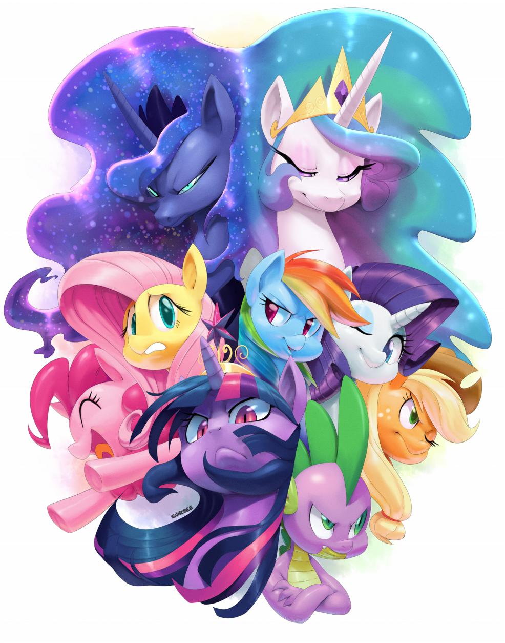 fan-art-my-little-pony-ponies_by-sunibee