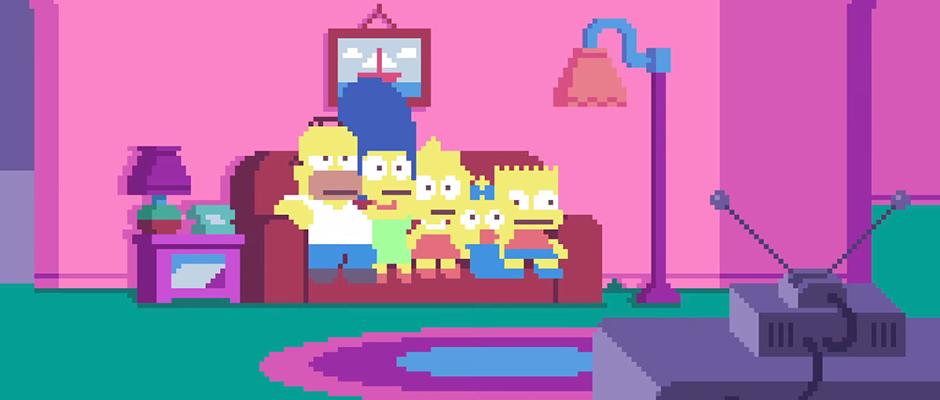 the-simpson-pixel-art