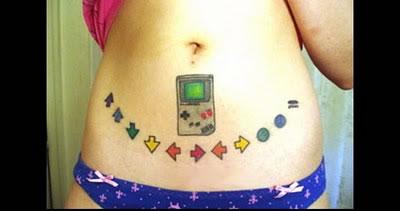 93 Game Boy Tattoo By A Little Boy