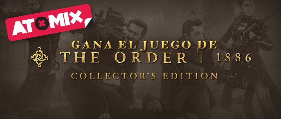 atomix_gana_juego_the_order_1886_collectors_edition_regalo_gratis_ready_at_dawn