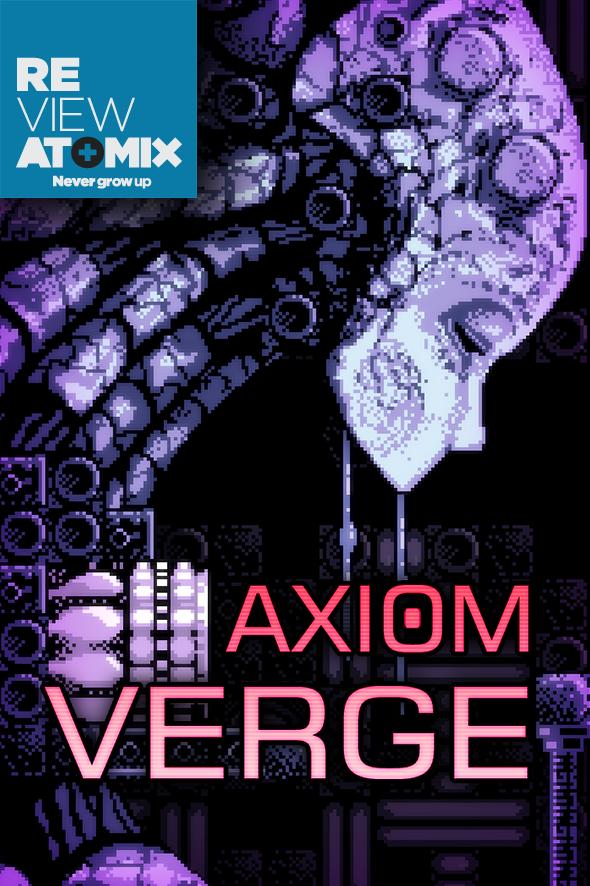 atomix_review_axiom_verge_juego_indie_sony_ps4_vita_playstation_retro_2d_metroidvania_accio_aventura_glitches_tom_happ