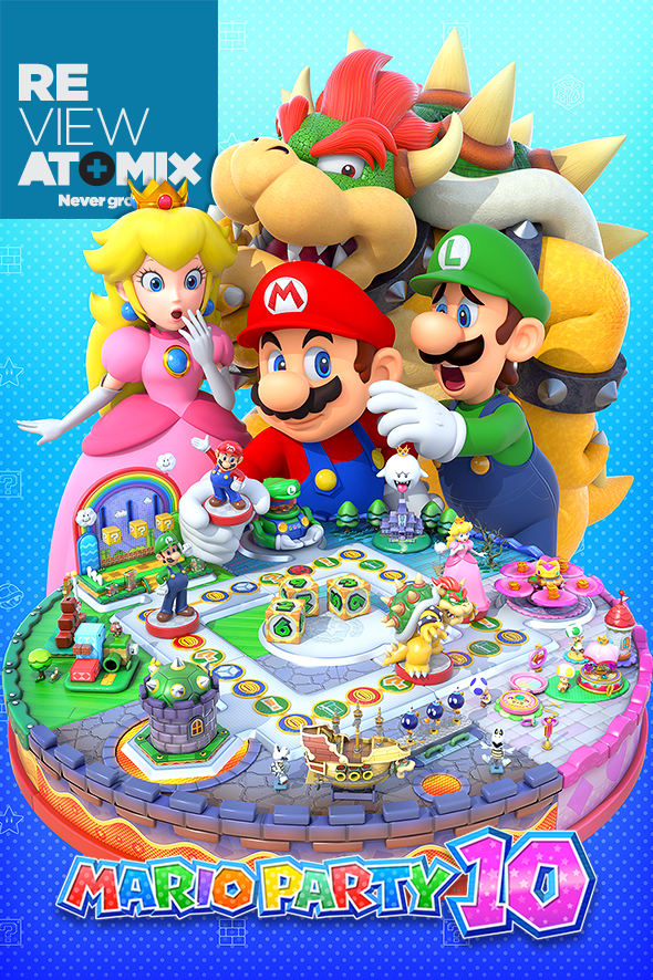 atomix_review_mario_party_10_tablero_turnos_amiibo_mario_nintendo_bowser_estrella_amigos_fiesta