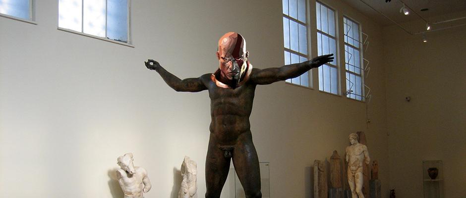 kratos-statue