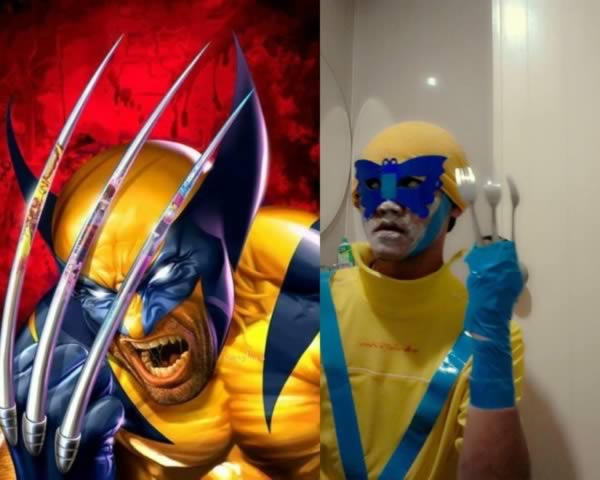 Cosplays lamentables de Marvel