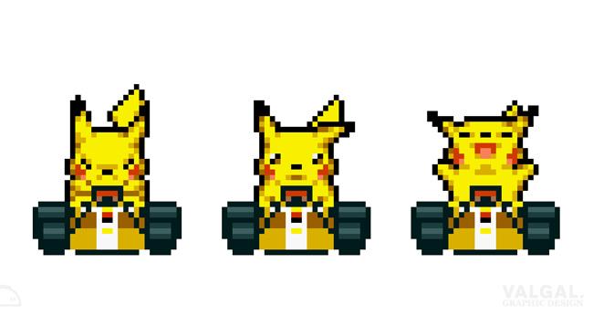 Mario-Kart-Pikachu-pokemon
