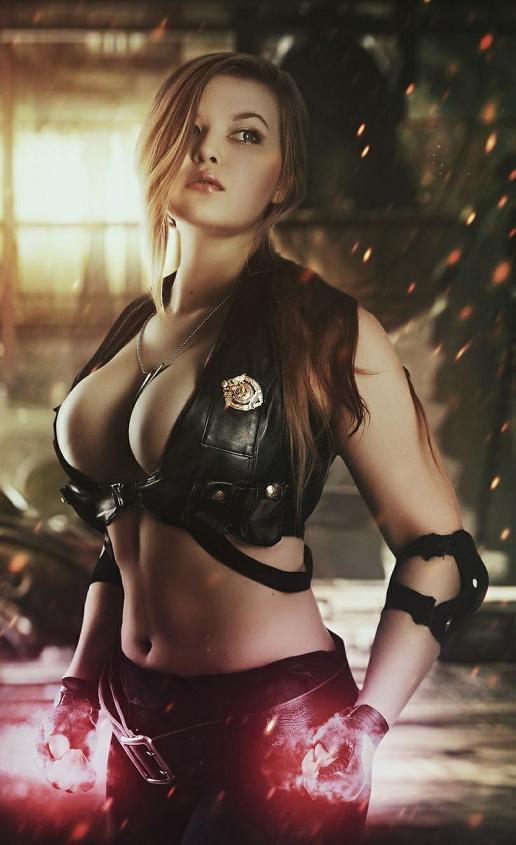 Sonya-Blade-Mortal-Kombat-by-Oksana-Orlova