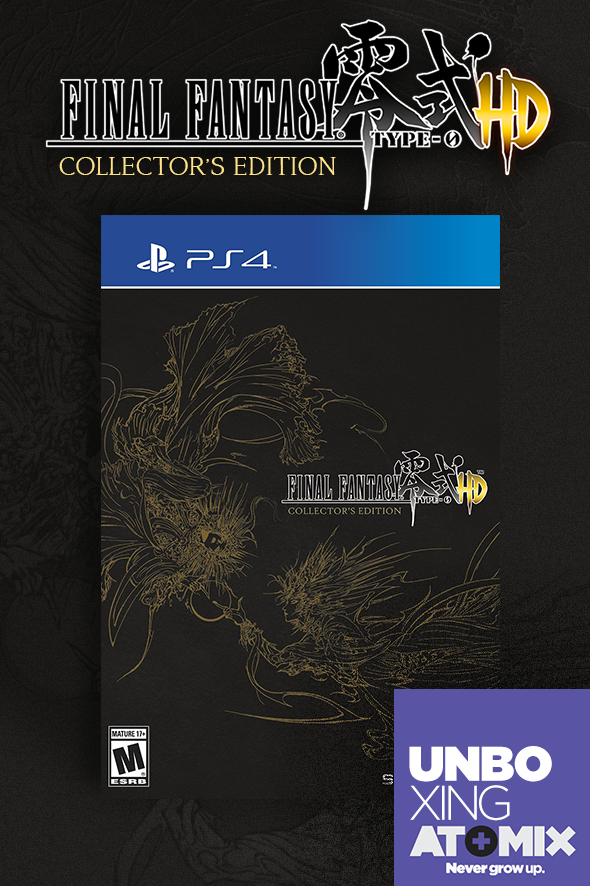 atomix_unboxing_final_fantasy_type-0_hd_collectors_edition_ace_square_enix_edicion_coleccion_playstation_xbox_sony_microsoft