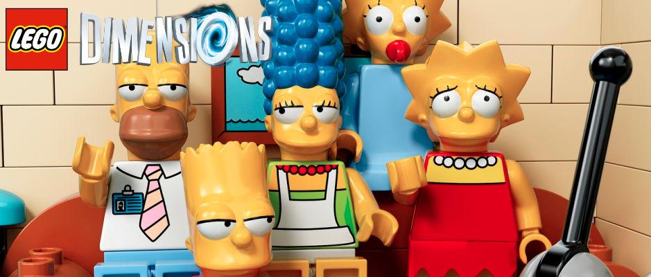 Anuncian sets de Portal 2, The Simpsons y mucho más para Lego Dimensions