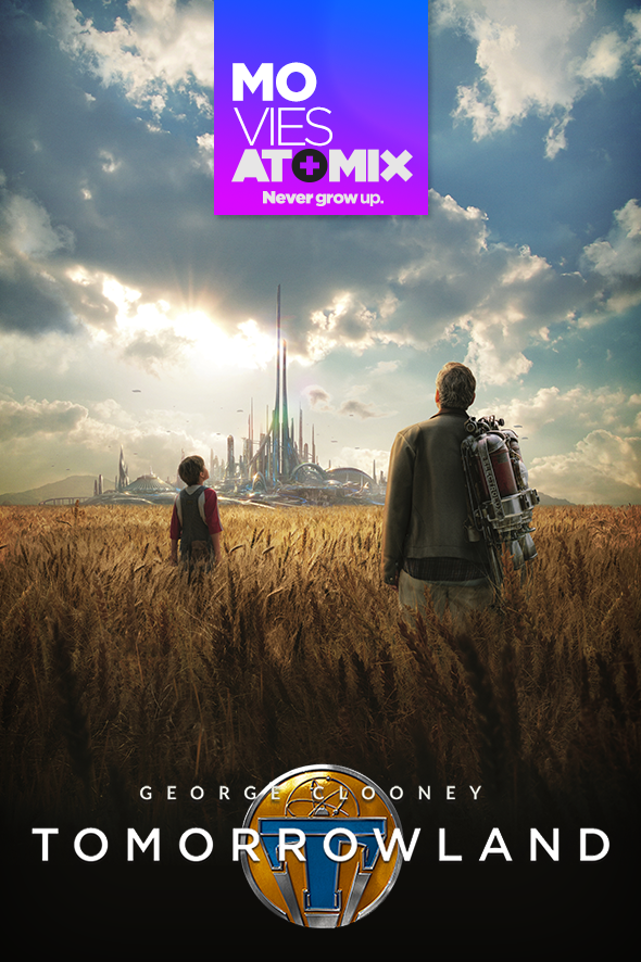 atomix_review_movies_tomorrowland_george_clooney_disney_ciencia_ficcion