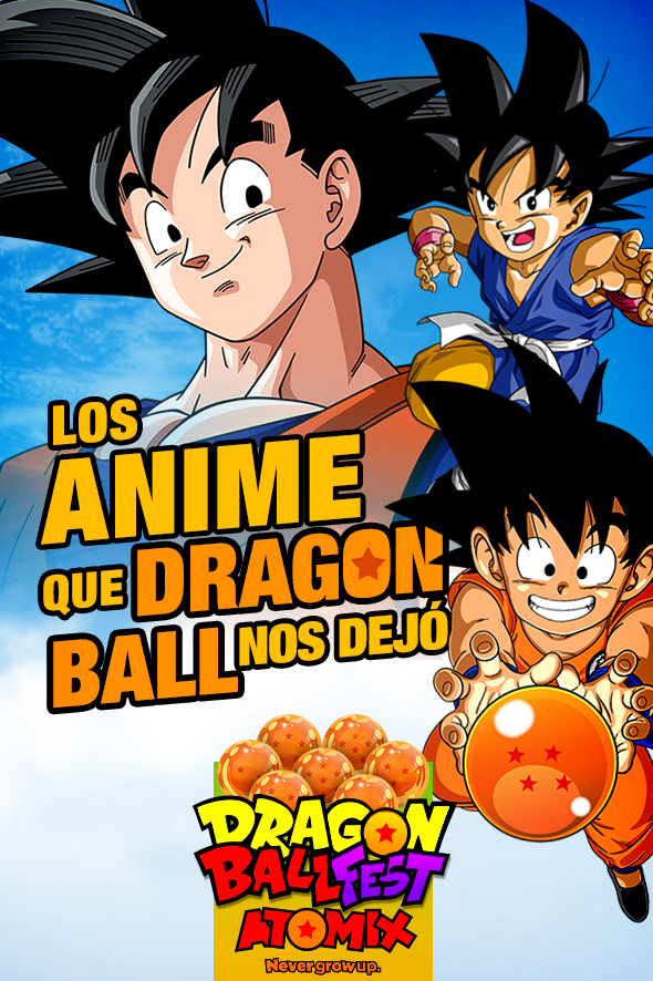 los-anime-que-dragon-ball-nos-dejo