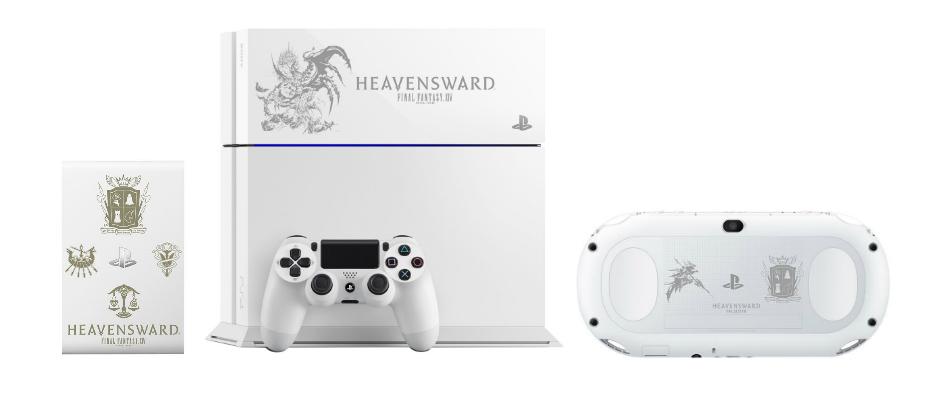 Japón tendrá consolas PS edición especial de FF XIV: Heavensward