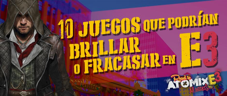 JuegosbrillarofracasarenE3