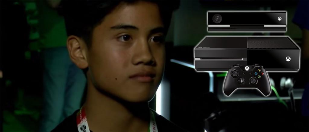 ¡Este niño no cabe de la emoción tras ganarse un Xbox One!... (not)   Atomix