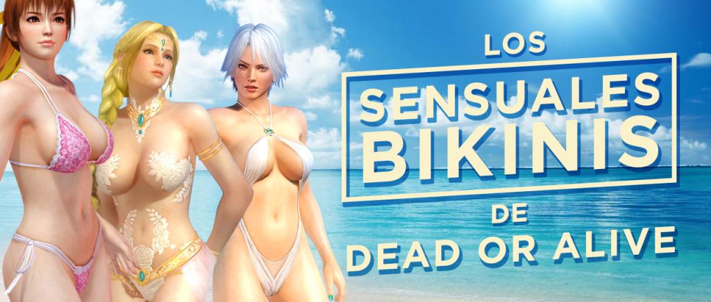 Los sensuales bikinis de Dead or Alive