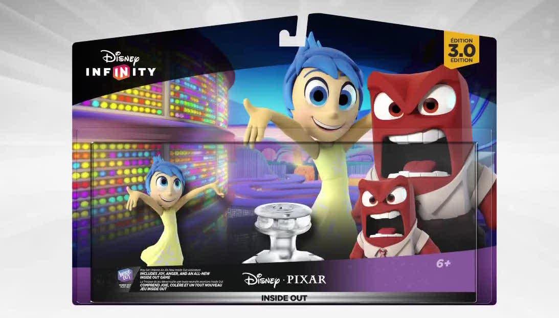 Pixar Post - Disney Infinity 3 Inside Out Play Set