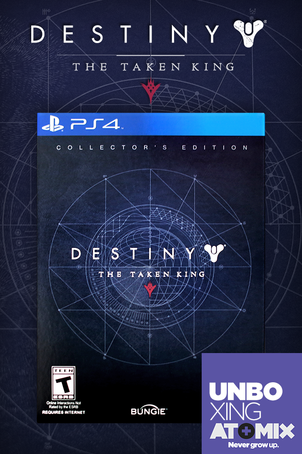 UNBOXING – DESTINY: THE TAKEN KING COLLECTOR'S EDITION
