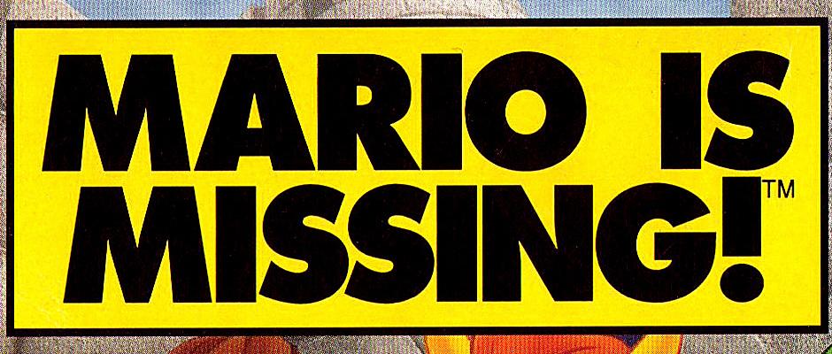mario-is-missing